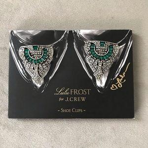 Lulu Frost for JCrew Shoe Clips